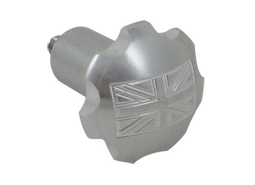 Triumph Choke Knobs UNION JACK CHROME