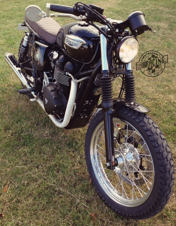 garde boue avant slim triumph bonneville thruxton firstracer. Black Bedroom Furniture Sets. Home Design Ideas