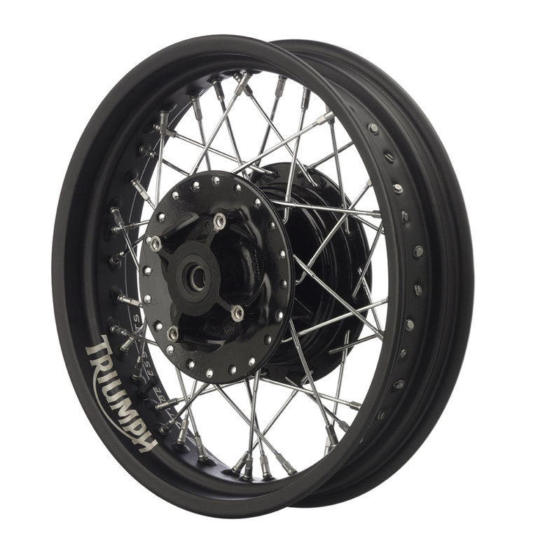 KIT ALUMINUM WHEEL FRONT AND REAR FOR TRIUMPH BONNEVILLE ALPINA AND SCRAMBLER
