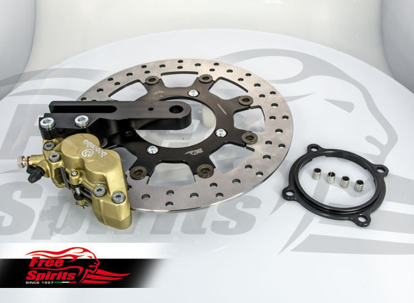 Brembo 4-piston rear brake Kit Triumph Free Spirits