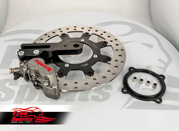 Brembo 4-piston rear brake Kit Triumph Free Spirits Titanium
