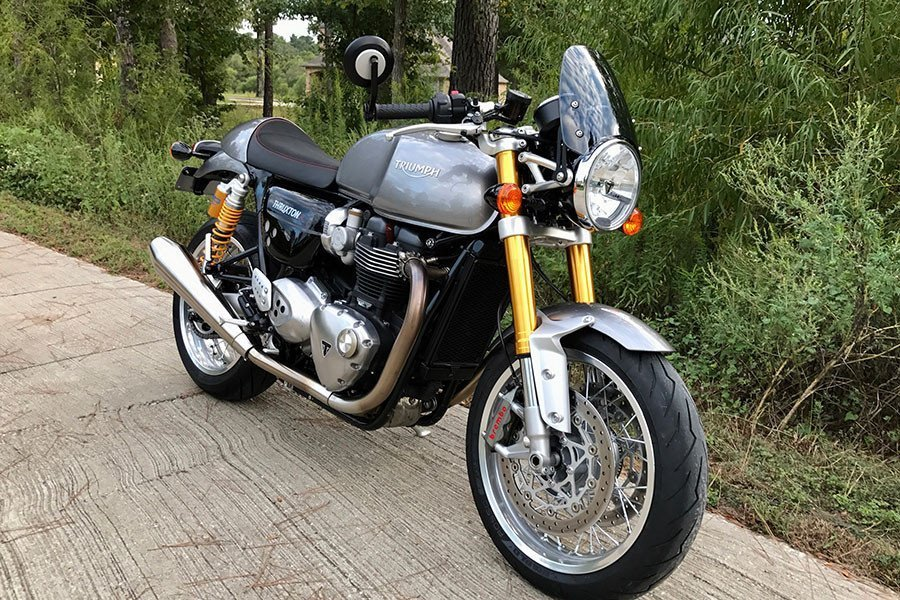 Flyscreen Dart Classic Triumph Thruxton 1200 from 2016