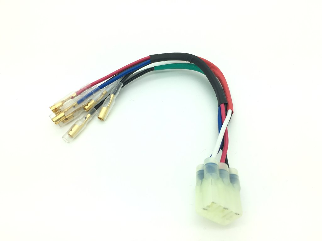 TEC Plug & Play Rear Indicators and Stop/Tail Light Wiring Kit - Water-cooled Triumph Models
