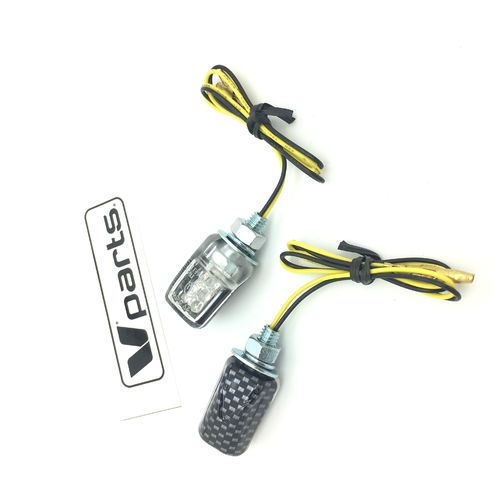 MINI CLIGNOTANTS SMALLEST A LEDS STYLE CARBON CE