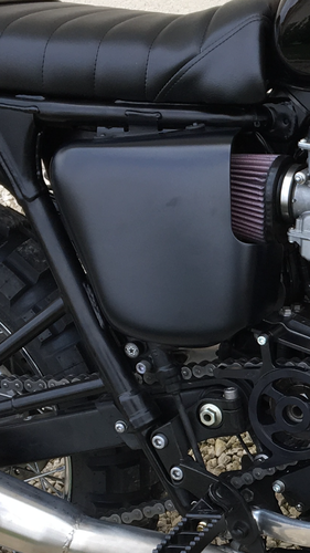 OPEN SIDE COVER LEFT OR RIGHT TRIUMPH
