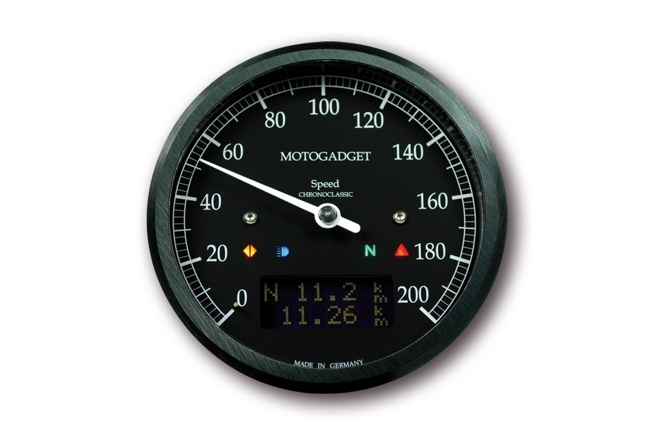 Counter Chronoclassic motogadget 200 km/h