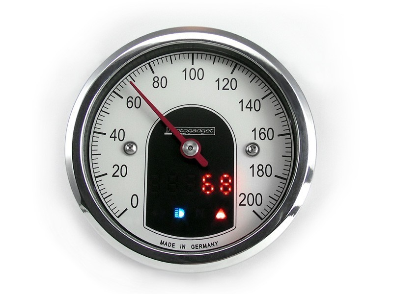 Compteur Motogadget Tiny 49 mm Chrome