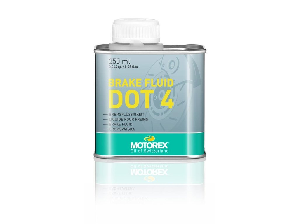 BRAKE FLUID DOT 4 BRAKE FLUID MOTOREX 250ML