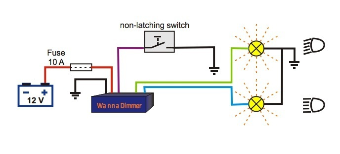 Wanna Dimmer relay