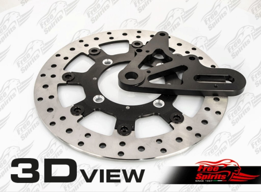 Up Graded floating rear Brake Disc Kit for Triumph Street Twin.