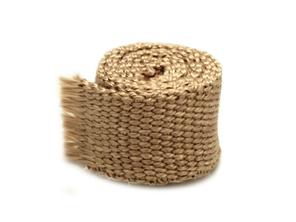 Exhaust Heat Wrap 50mm x 7.5m 650°C Brown