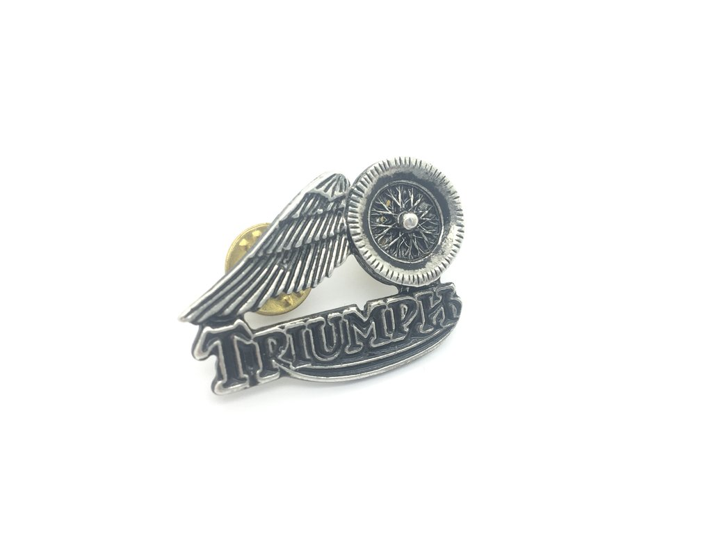 PIN'S TRIUMPH MOTORCYCLES WHEELS ANGEL'S