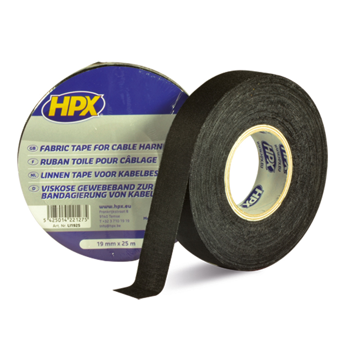 ADHESIVE TAPE BLACK 19MM X 25 M