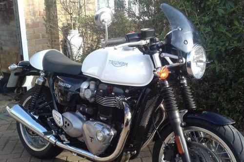 Dart Flyscreen Marlin triumph Bonneville T120 from 2016
