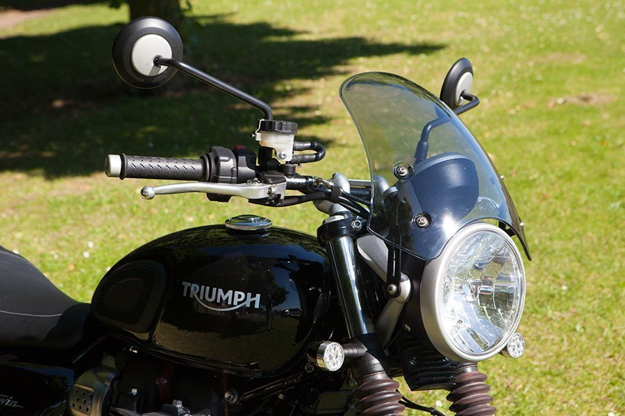 Dart Flyscreen Marlin triumph Street Twin from 2016