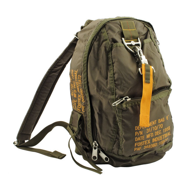 BACKPACK STYLE US AIR FORCE ARMY KAKI