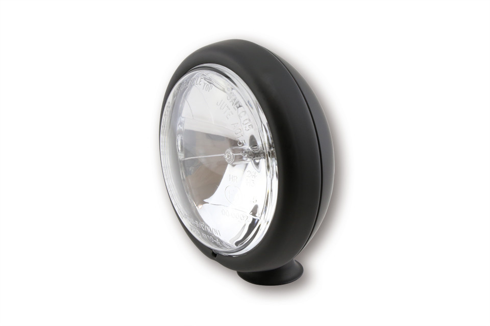 "Additional headlights 4 1/2"" mounting Low Black"