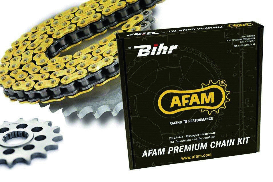 Chain kit AFAM 525 type XSR2 TRIUMPH BONNEVILLE T120 - 2016 and +