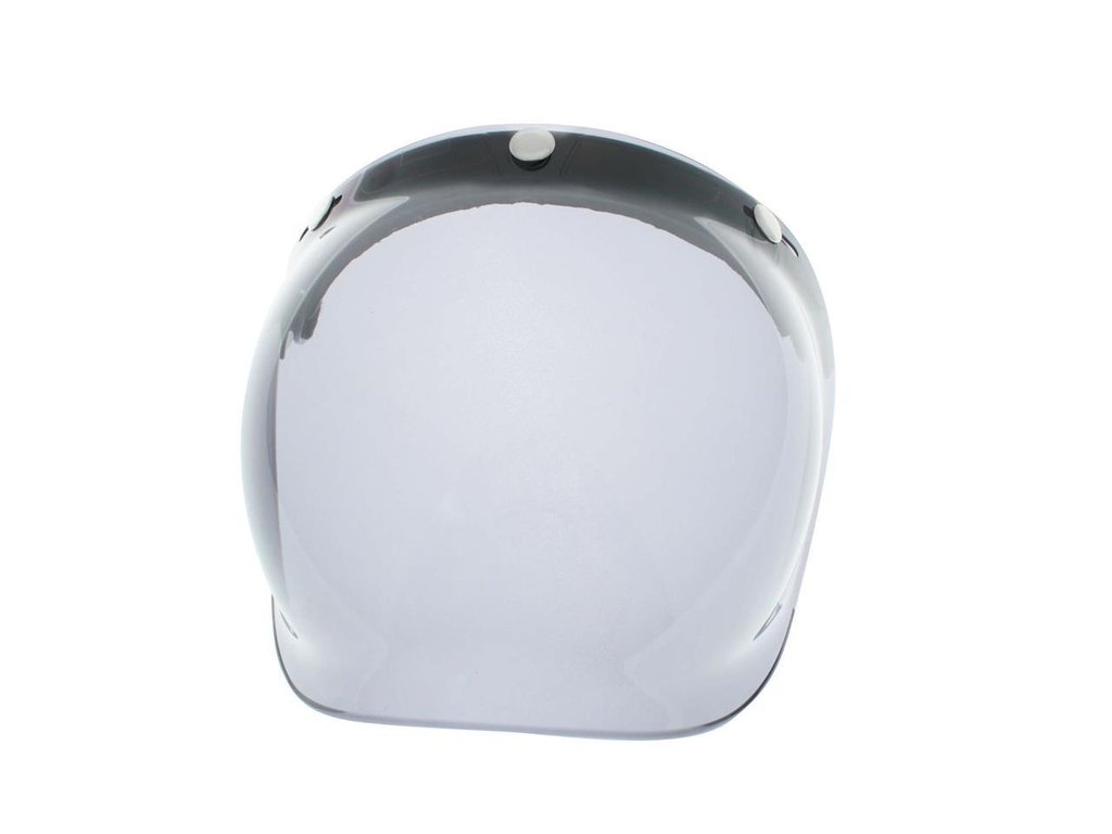 V PARTS Bubble smoked universal helmet shield with flip-up