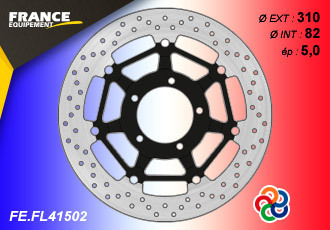 Brake disc FRONT FOR NEW TRIUMPH 2016 +