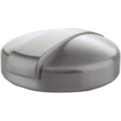MONZA STAINLESS STEEL GAS TANK CAP BRUSHED