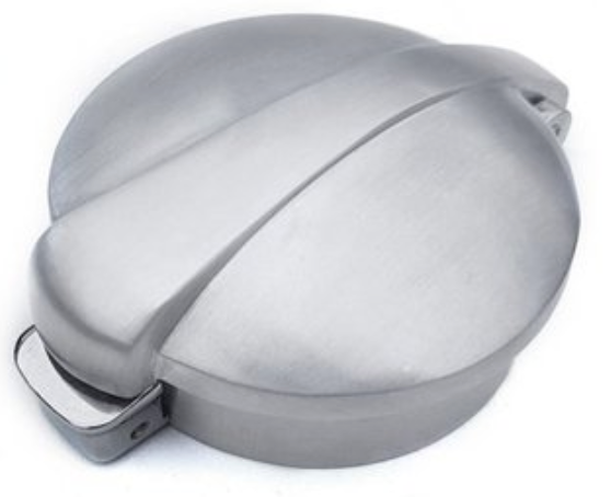 Aston Monza Rocker Plug for Triumph Motorcycles in BRUSHED ALUMINUM