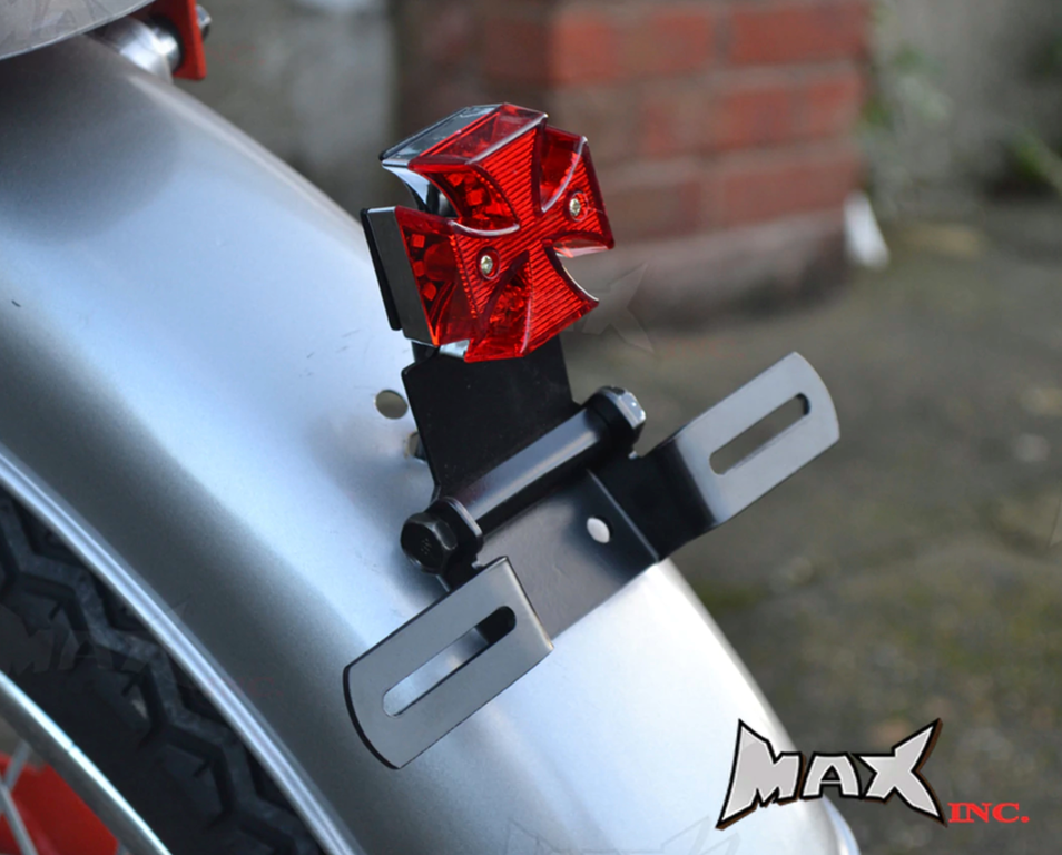 Classic Maltese cross brake / tail light