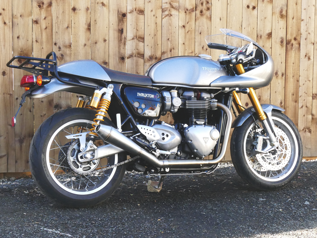 EXHAUST SYSTEM Rebel 2 in 1 Speed twin 1200 / Thruxton 1200