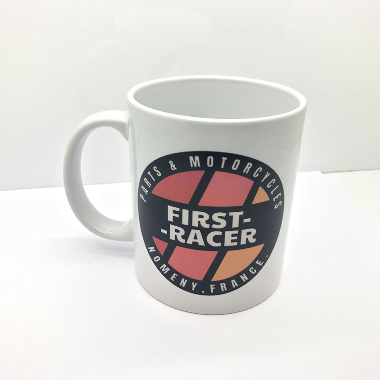 MUG FIRSTRACER CERAMIQUE BLANC
