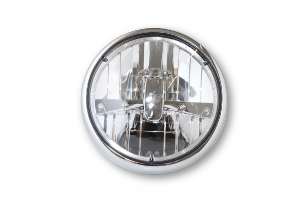 LED front light HIGHSIDER 180 mm RENO TYP 3 CHROME
