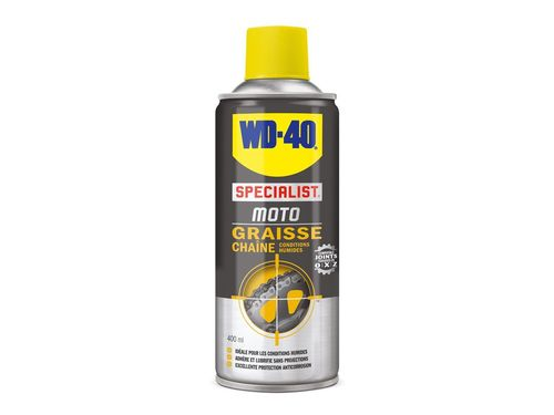 CHAIN GREASE WD-40 400 ML WET